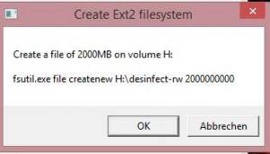 Ext2 Create